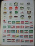 IRAN PERSIA POSTES PERSANES COLECCION MONTADA EN CLASIFICADOR DE 140 BANDAS USADO - Iran