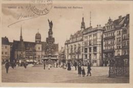 Halle A. S. - Marktplatz Mit Rathaus - 1906 - Halle (Saale)
