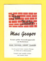 Old Cabaret Guide - Mac Gregor, Zum Keller - Seizoenen En Feesten