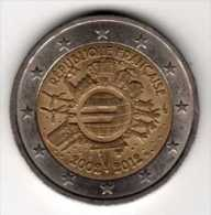 France 2€ Commémorative 2012 : 10 Ans EURO - France