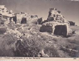 Scan3 : Bouches-du-Rhone, Les Baux : Vestiges Troglodytiques Et La Tour Sarrazine, 'Editions ROBY, Signature En Relief) - Autres Communes