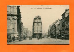 LE HAVRE    1909  LA RUE DE PARIS   CIRC  OUI    EDIT - Autres