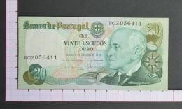 PORTUGAL  20  ESCUDOS  1978    - 2 Scans (Nº06955) - Portogallo