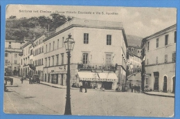 Soriano Nel Cimino Piazza Vittorio Emanuele E Via S.Agostino - Viterbo