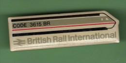 TGV *** BRITISH RAIL INTERNATIONAL *** CODE 3615 BR  *** (035) - TGV