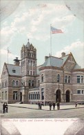 Massachusetts Springsfield Post Office And Custom House