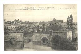 Cp, 79, Thouars, Panorama De LaBasse Ville, écrite - Thouars