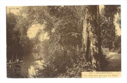 Cp, 94, Champigny, Un Coin Aux Abords Du Pont, Voyagée - Champigny Sur Marne