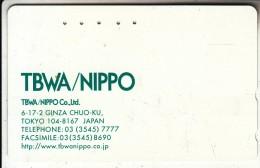 JAPAN - TBWA/Nippo(110-016), Used - Japan