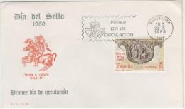 SPAGNA - 1980 - DIA DEL SELLO - FDC - FDC