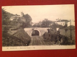 07 Ardeche  TOURNON 75 Entrée Du Tunnel - Tournon