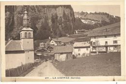 LA GIETTAZ ( Savoie ) Animé   117 - Non Classés
