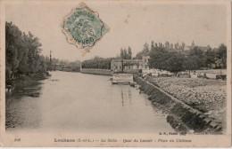 Louhans La Seille Quai Du Lavoir Place Du Chateau - Louhans