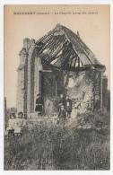 80 SOMME - MAUCOURT Ruines De La Chapelle Leroy (très Peu Courante) - Autres Communes