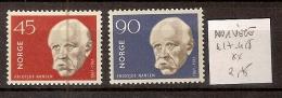 Norvège 417-418 **côte 2.75 € - Norwegen