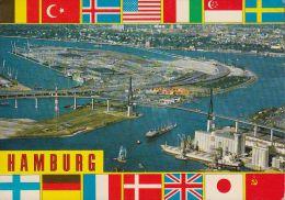 D-20095 Hamburg - Köhlbrandbrücke Und Neuer Elbtunnel - Mitte