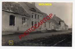WOUMEN-Carte Photo Allemande-Guerre 14-18-1WK-Militaria-BELGI EN-BELGIQUE-Flandern- - Diksmuide