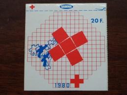 Rode Kruis / Sabena ( 20 F. ) 1980 ( Zie Foto Voor Details ) Zelfklever Sticker Autocollant ! - Publicidad
