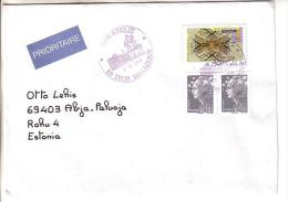 GOOD FRANCE Postal Cover To ESTONIA  2014 - Good Stamped: Art ; Marianne - Frankrijk