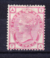 1879  SG 144 * Queen Victoria 3 D. Rose Platte 20 - 1840-1901 (Victoria)