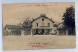 134. BAGNOLES-de-L'ORNE - HOTEL DE LA TERRASSE - Eclairage Electrique - Recommandé Du T. C. F. - Bagnoles De L'Orne