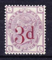 1883 SG 159 * Queen Victoria 3 D. On 3 D. Lilac - 1840-1901 (Victoria)