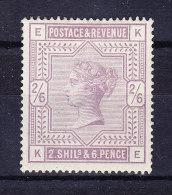 1883/84 SG 178 * Queen Victoria 2/6 D. Lilac - 1840-1901 (Victoria)