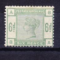 1883 SG 194 * Queen Victoria 6 D. Green - 1840-1901 (Victoria)