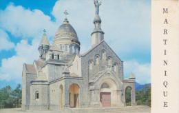 MARTINIQUE, FORT DE FRANCE, L'église Du Sacré Coeur De Montmartre à Balata, Carte Couleur - Fort De France