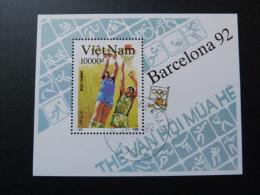 """BLOC FEUILLET """"VIET NAM""""  J.O. BARCELONE 92  -  BF 72 (YetT) - Summer 1992: Barcelona"""