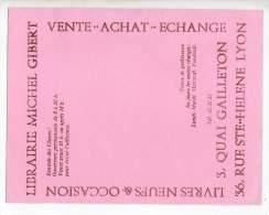 Buvard - Librairie Michel Gibert - Stationeries (flat Articles)