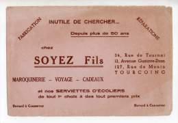 Buvard - Maroquinerie, Voyage, Cadeaux, Soyez Fils, Tourcoing - Kleidung & Textil