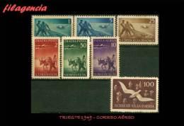 PIEZAS. TRIESTE MINT. 1949 SELLOS DE CORREO AÉREO - Otros - Europa