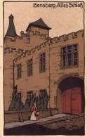 CPA :  BERGISCH  (allemagne):  Bensberg-Altes Schloss (N°22092).      (B 1143) - Bergisch Gladbach