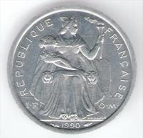 NUOVA CALEDONIA 1 FRANC 1990 - Nuova Caledonia