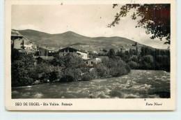 SEO DE URGEL - Rio Valira. Paisage. - Lérida