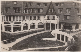Hôtels-Restaurants/ Carte-Photo à Localiser / Strand Hotel / Belgique ? Pays-Bas ? / Automobile - Hotels & Restaurants