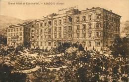 Depts Divers-  Corse - Ref M 400 -  Ajaccio - Grand Hote Lcontinental - -dessin - Hotels -  Carte Bon Etat - - Ajaccio