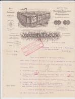 BELLE FACTURE ANCIENNE 75 PARIS CHARLES BLANC BD LENOIR 1913 - 1900 – 1949