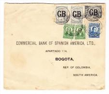 Kolumbien - Scadta Brief 1 Peso U. 52 Centavos Nach Bogota - Colombie