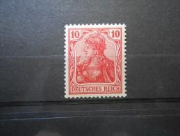 D.R.86 Ib  10Pf** - Germania 1905 - L´rotkarmin - Germany