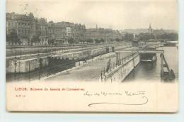 LIEGE  - Ecluse Du Bassin De Commerce. - Liege
