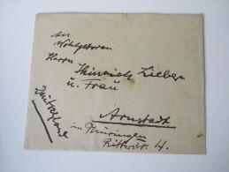 Jugoslawien / Serbien S.H.S. Brief Nach Deutschland Vrsac - Arnstadt. Nr. 164 Mehrfachfrankatur - 1919-1929 Kingdom Of Serbs, Croats And Slovenes