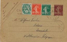 CARTE LETTRE : 1926