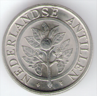 ANTILLE OLANDESI 10 CENTS 1990 - Antille Olandesi