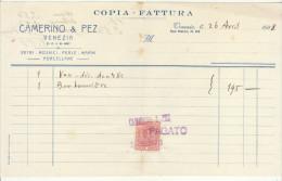 Vetri, Mosaici, Perle, Marmi Camerino & Pez , Venezia San Marco 1928 - Italie