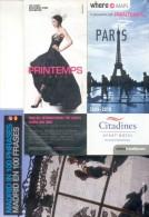 PROGRAMAS GUIAS MAPAS MUSEOS MUSEUMS MUSEES EXPOSICIONE EXPOSITIONS PUBLICIDADES TARJETAS  LOTE 1 - Programs