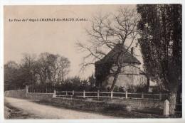 La Tour De L´Ange à Charnay-lès-Mâcon, 1949, Photo Combier - Other Municipalities