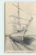 ANVERS - Navire En Cale Sèche. - Velieri