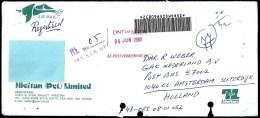 Pakistan: Registered Cover Sent From Sialkot To Netherland, 30-05-2000 - Pakistán